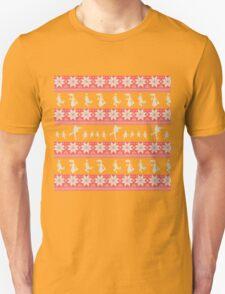 Mary Christmas Sweater Print T-Shirt