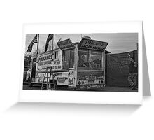 Italian Sausage Van, Queens Greeting Card
