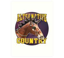 Alternative Country 02 Art Print
