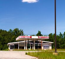 Abandoned Gas Station by Nazareth