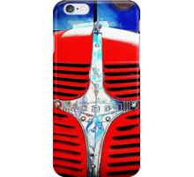 Old Red Dodge Truck iPhone Case/Skin