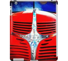 Old Red Dodge Truck iPad Case/Skin