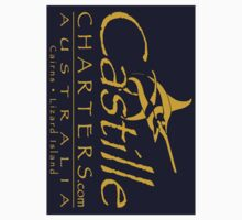 Boat Stickers - Castille Charters (Blue) by blackmarlinblog