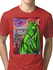 The Evening At The Saloon Tri-blend T-Shirt