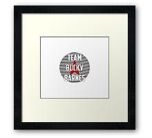 Team Bucky Barnes Framed Print