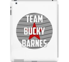 Team Bucky Barnes iPad Case/Skin
