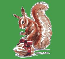 Holiday Critters - Red Squirrel Kids Clothes