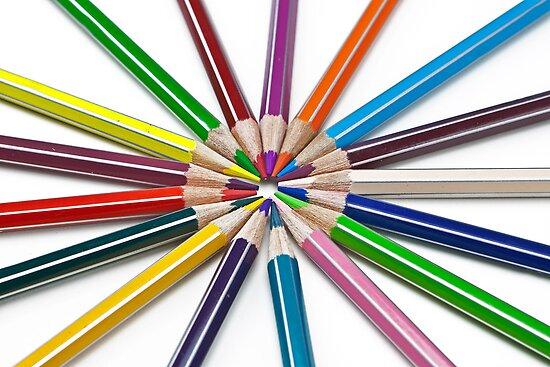 pencils by Joana Kruse