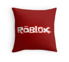 Roblox Title Throw Pillow