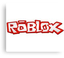 Roblox Title Canvas Print