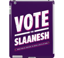 Vote for Slaanesh - Damaged iPad Case/Skin