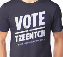 Vote for Tzeentch - Damaged Unisex T-Shirt