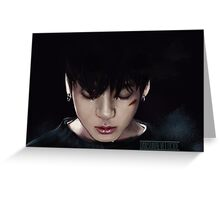 BTS Jungkook 06 Greeting Card