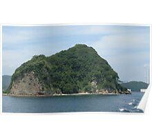Island in sea Poster