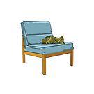 Bag & Chair 1970s by Lisadee Lisa Defazio