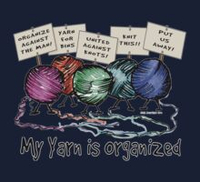 Yarn: Organized! Higher Placement Kids Tee