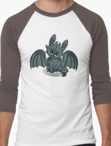 How to Train Your Baby Dragon Men's Baseball ¾ T-Shirt