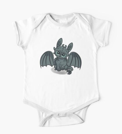 How to Train Your Baby Dragon One Piece - Short Sleeve