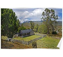 Mount Kate House and View to Cradle Mountain Poster