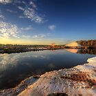 Snowfields Of Faro by manateevoyager