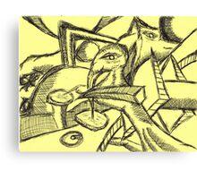 taxi dear me Canvas Print