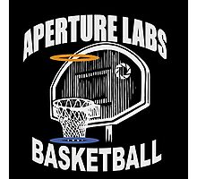 Aperture Labs Basketball Photographic Print