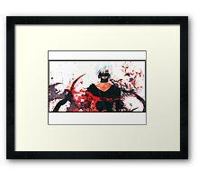 Tokyo Ghoul | Blood vs Dark Framed Print