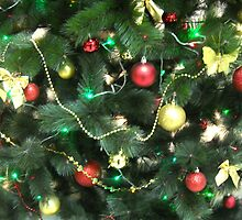 Christmas Baubles Colours. by Vitta