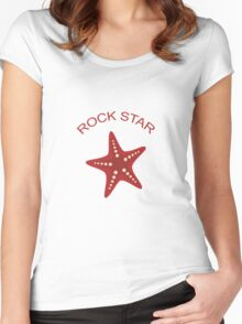 Rock Star Women's Fitted Scoop T-Shirt