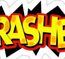 """Super Trashed Bro"" Super Smash Bros. Parody Spoof N64 Sticker"