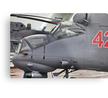 attack helicopter Metal Print