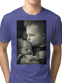 He Is My Brother! Tri-blend T-Shirt