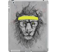 hipster lion iPad Case/Skin