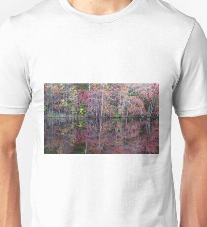 Canton, New Jersey USA Pond Peak Color Unisex T-Shirt