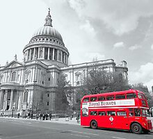 Red Routemaster - Revisited by DavidWHughes