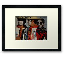 Day Of Death - Dia De Los Muertos Framed Print