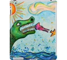 The Chameleon Wins iPad Case/Skin
