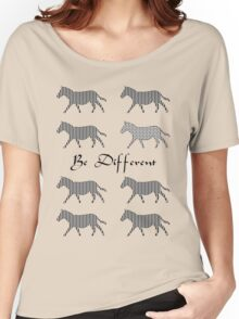 Be Different Women's Relaxed Fit T-Shirt