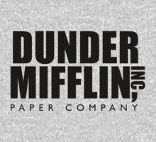 Dunder Mifflin Inc. One Piece - Long Sleeve