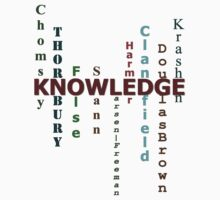 Knowledge Shirt by Walton Burns
