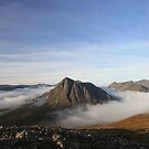 The Buachaille in the mist by beavo
