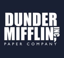 Dunder Mifflin Inc. One Piece - Long Sleeve