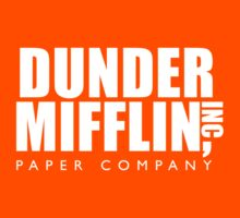 Dunder Mifflin Inc. Kids Tee