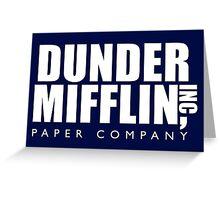 Dunder Mifflin Inc. Greeting Card