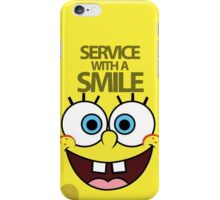 Service with a Smile iPhone Case/Skin