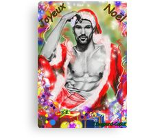 Merry Christmas, featured in Artists Universe Canvas Print