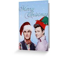 Christmas Klaine Greeting Card