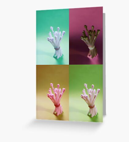 Buds packed tight Greeting Card