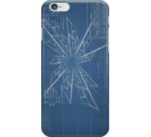 Iphone Blueprint Case - Discovery of time-travel iPhone Case/Skin