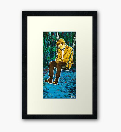 The Lonely Doctor Framed Print